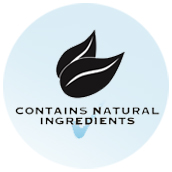 Contains Natural Ingredients