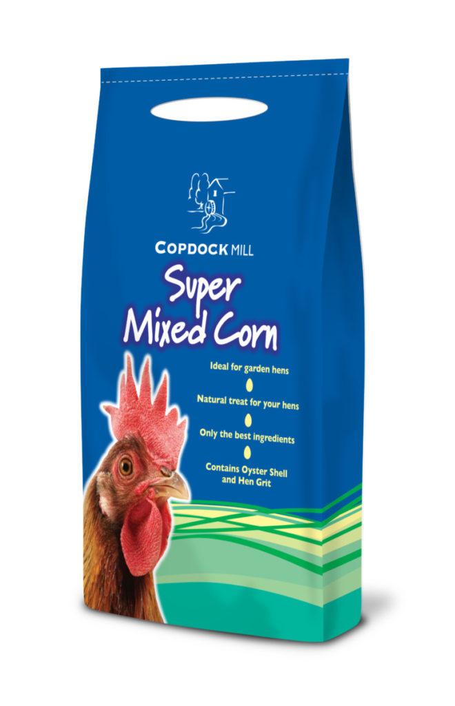 5kg - Copdock - Super Mixed Corn - Hen Food - Chicken Food