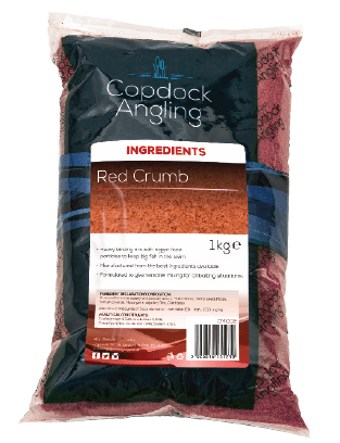 Copdock Angling Red Crumb - Breadcrumbs for fishing