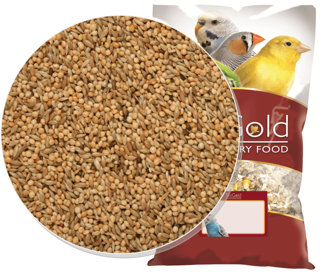 Skygold Budge 50/50 Mix Canary Seed, Budgie Food, Finch Food
