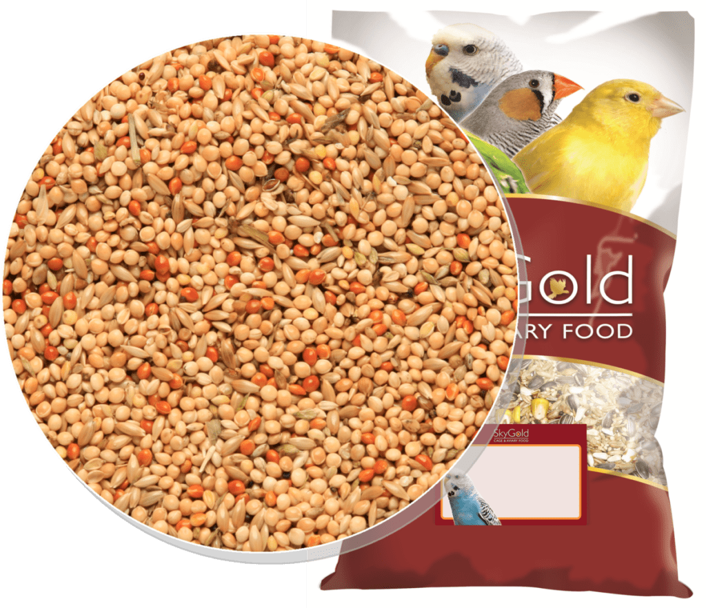 Skygold Cage & Aviary Budgie Red Mix - Budge Food