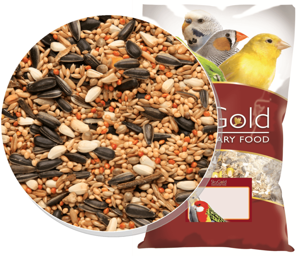 Skygold Cockateil & Parakeet Mix - Cockatiel Food, Parakeet Food