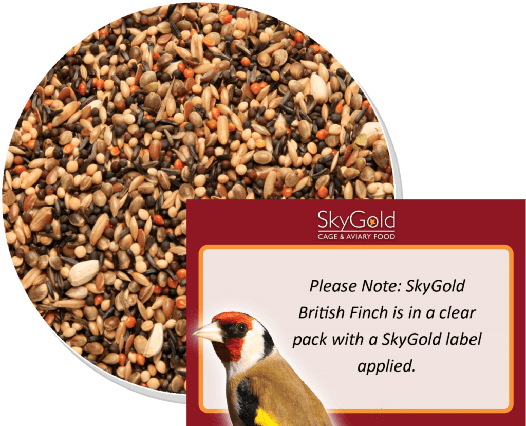 Skygold Cage & Aviary - British Finch Mix, Finch Food