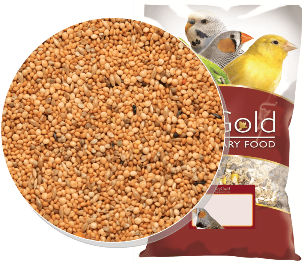 Skygold Popular Foregign Finch Mix, Foreign Finch Food