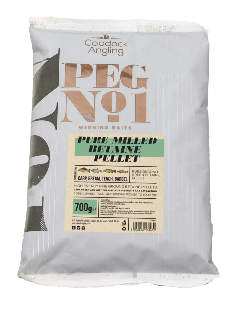 Copdock Angling - PEG No 1 Pure Milled Betaine Pellet - Specialist Groundbait