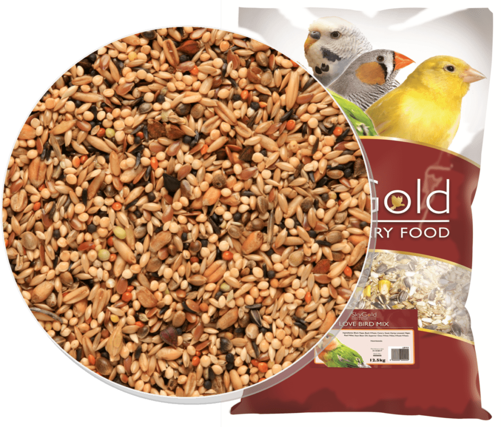 Skygold Cage & Aviary Love Bird Mix - Love Bird Food