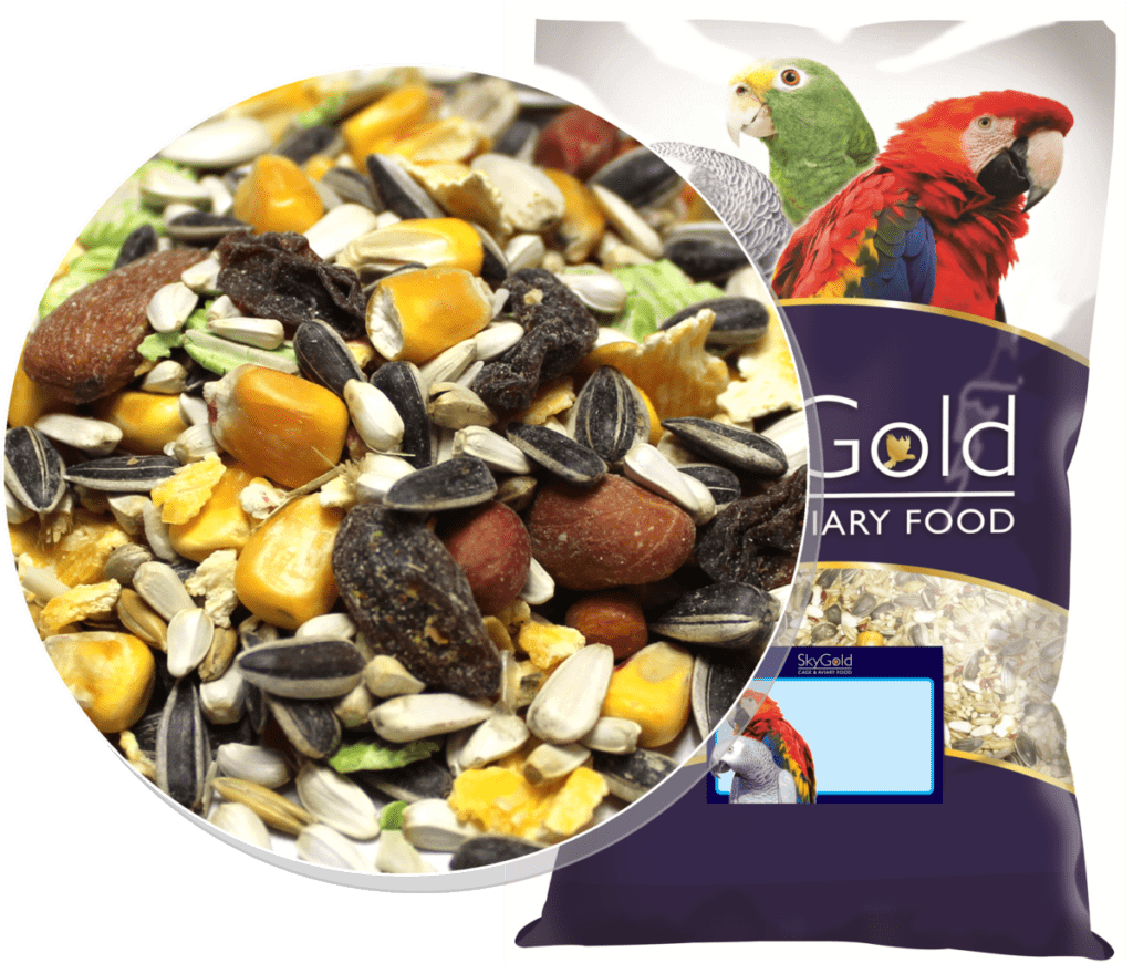 Skygold Cage & Aviary - Oasis Parrot Mix - Parrot Food