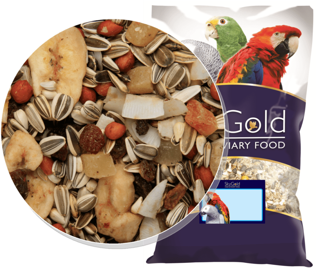 Skygold Cage & Aviary - Tropical Parrot Mix - Parrot Food