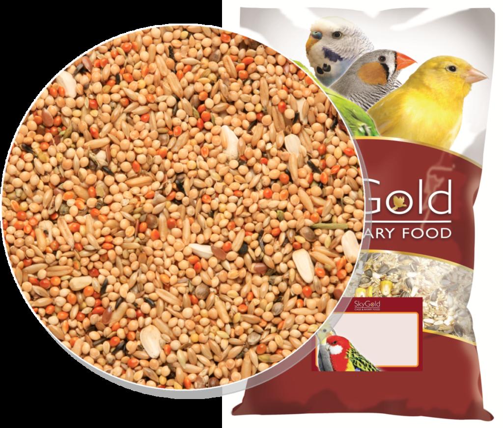 Skygold Caige & Aviary Bird Food - Popular Parakeet Mix - Parakeet Food