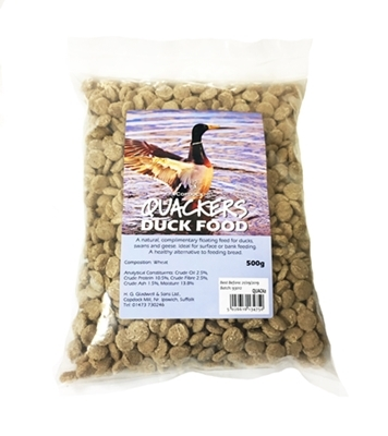 Quackers Duck Food - Duck Feed Pellets