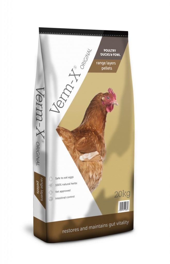 Verm-X Range Layers Pellets - Poultry, Ducks & Fowl - Chicken Layers Pellets